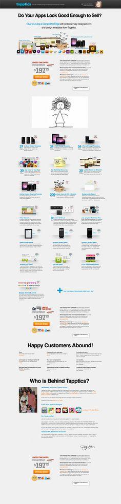 Beautiful mobile app design from Tapptics. Best Landing Page Design, Best Landing Pages, Landing Page Inspiration, Design Inspiration, Landing Page Optimization, Ecommerce Website Design, Mobile App Design, User Interface Design, Web Design