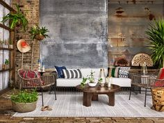 Living Room | Bandera Outdoor Woven Club Chair
