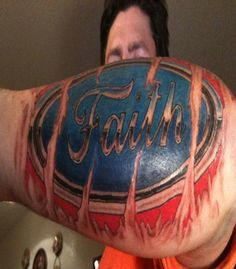 Faith Tattoo Designs For Men: The Faith Tattoo Designs And Meaning For Men ~ tattooeve.com Tattoo Design Inspiration