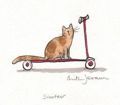 Scooter ~ Anita Jeram