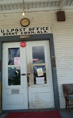 """Burnt Corn, Alabama is only one of many towns here with a """"different kind"""" of name~"""