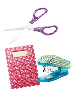 Super-Cool School Supplies - Could make something similar.