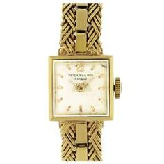 Patek Philippe Lady's Yellow Gold Wristwatch