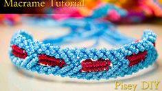 How to make macrame Star Wars Bracelet tutorial , Friendship DIY Pro...