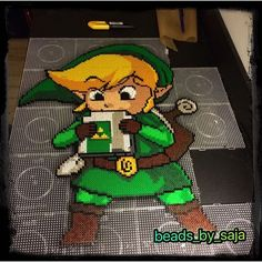 LoZ Link perler beads by beads_by_saja: