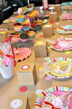 cupcake party supplies, Tomkat studio, paper party supplies, MeriMeri, Toot Sweet