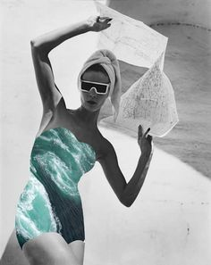 "Merve Özaslan |  ""Natural Act"" | Photography | Fotografia | Collage | Colagem |"
