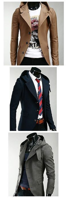 Cool men's hoodie suit, get ready for your #backtoschool style. Click to enjoy our Back-To-School Sales and get your secret coupon up to $50 until 31th Aug.