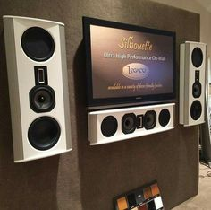 Legacy Audio Silhouette   wall mount speakers