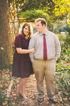 {Curvy Love} North Carolina Garden Love | Connection Photography