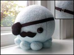 Custom pirate octopus commission