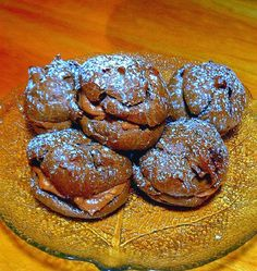 One Perfect Bite: Chocolate-Hazelnut Cream Puffs