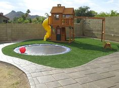 44 Small Backyard Playground Landscaping Design Ideas ✈✈--- Visit our shop canvas art ---✈✈ ideas architecture design room backyard diy playground playground playground playground playground playground games landscaping playground art plan ill Backyard Trampoline, Small Backyard Landscaping, Backyard For Kids, Backyard Projects, Backyard Patio, Landscaping Ideas, In Ground Trampoline, Arizona Backyard Ideas, Trampoline Ideas