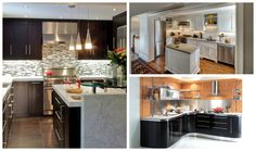Here is a collection of 16 Modern Small Kitchen Designs to show you how to perfectly organize your kitchen even when there is no too much space available. Space Available, Dining Room Design, Kitchen Dining, Kitchen Designs, Modern, Table, Furniture, Organize, Houses