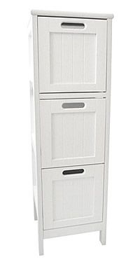 Shaker Style 3 Drawer Storage Unit At Great For Swallowing Bathroom Clutter Where