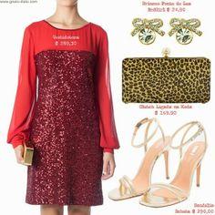 Como usar: Natal é vermelho! - How to wear: Christmas is red!
