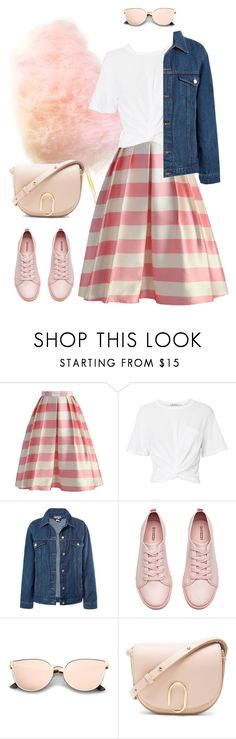"""""""Cotton Candy"""" by starrybell ❤ liked on Polyvore featuring Chicwish, T By Alexander Wang, Sans Souci, H&M and 3.1 Phillip Lim"""
