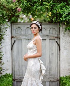 Claire Pettibone 'Provence' wedding gown http://www.clairepettibone.com/bridal/?cp=gowns/provence    Shot by This Modern Romance via  @Brandon Green Wedding Shoes / Jen Campbell