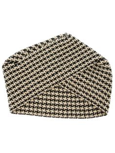 Houndstooth turban