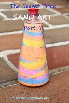 58 Trendy Sand Art Projects For Kids Diy Shaving Cream
