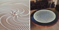 What music brings to your ears, Sisyphus brings to your eyes. That's what Bruce Shapiro says about his mesmerizing kinetic coffee table, and we couldn't agree more.