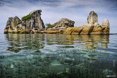 rock formation - burong island