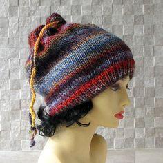 Women's Knit Hat  Slouchy Hat  Winter Fashion by AlbadoFashion