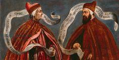 Doge Giovanni Dandolo and Doge Pietro Gradenigo, c.1585 (oil on canvas)
