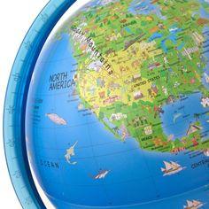 Activity Illuminated Childrens Globe