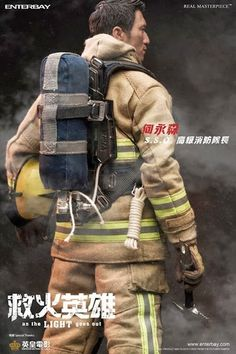 onesixthscalepictures: Enterbay As the Light Goes Out SAM & CHIU FIREMAN : Latest product news for 1/6 scale figures (12 inch collectibles).