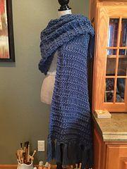 Ravelry: Granite Stitch Prayer Shawl pattern by Louis Chicquette