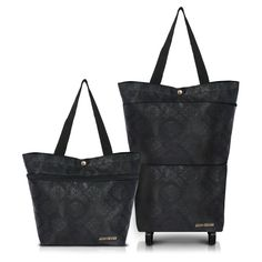 Elegant Essential Expandable TOTE Bag w/ Wheels - FREE SHIPPING