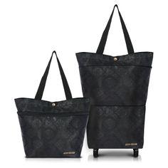 Elegant Essential Expandable TOTE Bag w/ Wheels - FREE SHIPPING
