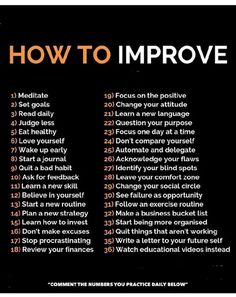 There are so many ways to improve yourself each and every day! What actions are you taking to improve yourself? How To Better Yourself, Improve Yourself, Positive Affirmations, Positive Quotes, Frases Fitness, Wisdom Quotes, Life Quotes, Quotes App, Learn A New Skill