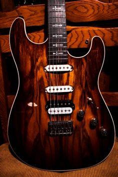 Warmoth Custom Guitar Parts - Gallery Entry. Standard Stratocaster® style Body: 1-piece Black Korina Top laminate: Black Korina.