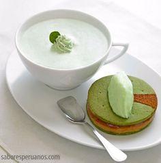 Alfajor de coca, cocapuccino y helado de coca  Ingredientes: Alfajor  2 tazas de harina sin preparar 160 gramos de mantequilla sin sal 5 c
