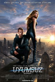 Divergent - Uyumsuz - 18 Nisan 2014 Cuma | Vizyon Filmi Shailene Woodley, Theo James #Divergent #Uyumsuz #Sinema #Movie
