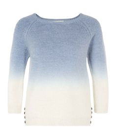 Dip Dye Alpaca Wool Sweater