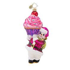 Radko You're so Sweet CUPCAKE ornament NEW 2014