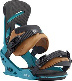 27a2c482901 Amazon.com   Burton Mission Snowboard Binding 2016 - Men s Blue Print Small    Sports   Outdoors