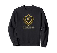 Genuine By Anthony Royal Edition Sweatshirt Custom Clothes, Sweatshirts, Sweaters, Fashion, Moda, Fashion Styles, Trainers, Sweater, Sweatshirt
