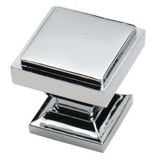 shop for southern hills polished chrome square cabinet knobs pack of 10 get