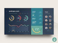 Admin dashboard interface