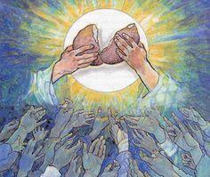 """""""la Eucaristía nos mueve al compromiso por un mundo más justo y solidario"""""""