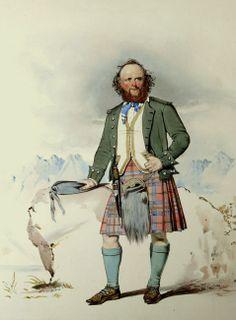 Angus MacDonell; Scottish Highlander (MacLeay) by Dezine Design