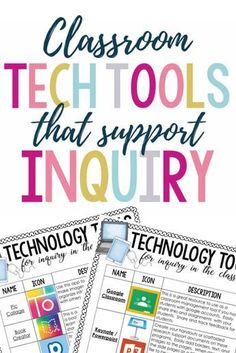 technology | classroom | inquiry | elementary