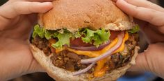Whitewater Veggie Burger - keep patties in the freezer Veggie Bean Burger, Go Veggie, Veggie Recipes, Whole Food Recipes, Vegetarian Recipes, Healthy Recipes, Cookbook Recipes, Cooking Recipes, Bread Recipes