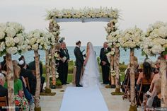 Dalsimer Atlas Floral & Event Decorators - Wedding - Alissa and Mark - Four Seasons Resort - Palm Beach