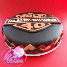 Birthday Cakes - k-cakes Harley Davidson Cake Harley Davidson Cake, Cupcake Cakes, Cupcakes, Cakes For Boys, Birthday Cakes, Fondant, Facebook, Sweet, Candy