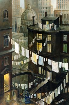 Phil Lockwood…….LIKE THIS SO MUCH……LIKE THE CITY LAUNDRY LINE……MAYBE MANY DIFFERENT APARTMENTS MAKE GOOD USE OF IT…………ccp